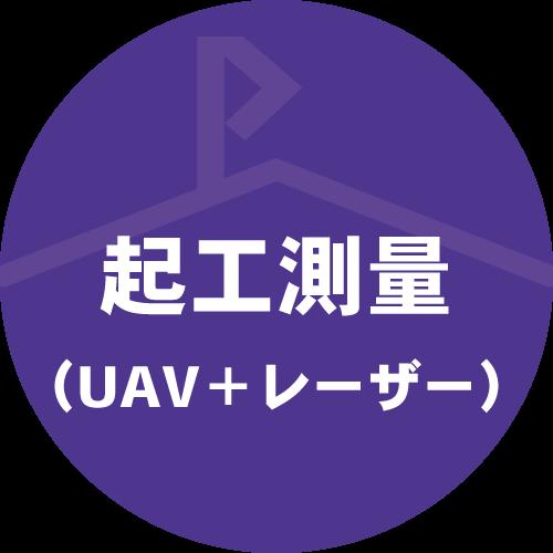 起工測量(UAV+レーザー)